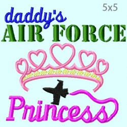 Daddy's Air Force Princess