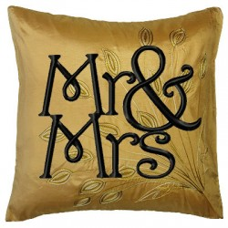 Mr. & Mrs. Embroidery Fill