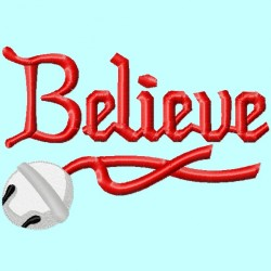 Believe Word with Bell