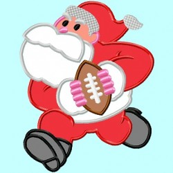 Santa Claus Football player