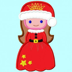 Santa Claus Dressed Princess
