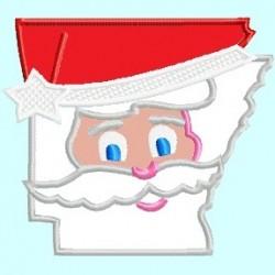 Arkansas AR State Santa Claus