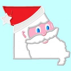Missouri State MO Santa Claus