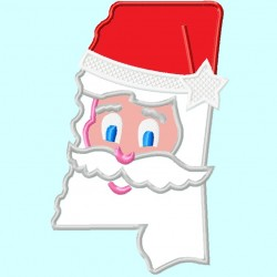 Mississippi State Santa Claus