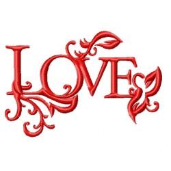 Elegant word LOVE