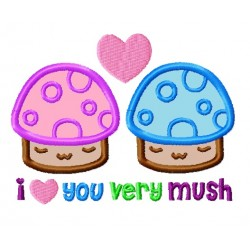 I Love You Very Mush Mushrooms