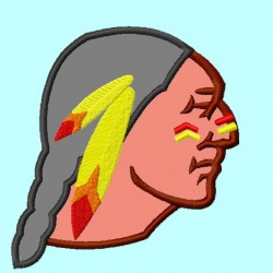 Seminole Indian head