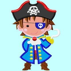 Pirate Boy with Hook