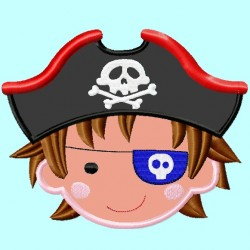 Pirate Boy Head