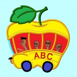 Apple School Bus