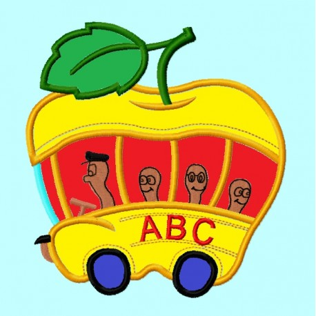 Apple School Bus