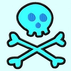 Simple Skull crossbones