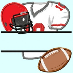 Split Football items