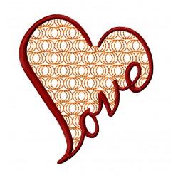 Love Heart Motif