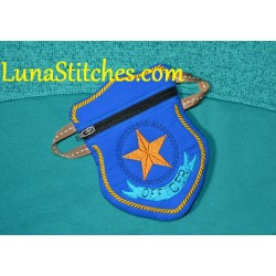 ITH Officer Badge Waist Pouch