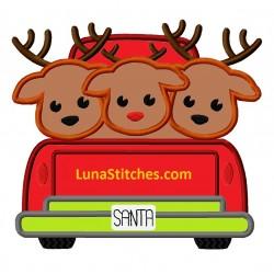 Red Truck  Reindeers