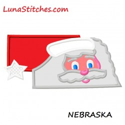 Nebraska Santa