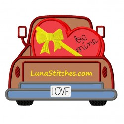 Truck Love Heart