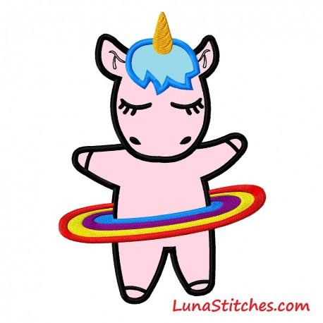 Unicorn Hula