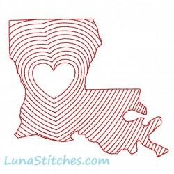 Louisiana State Hearts