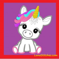 Baby Unicorn Pony