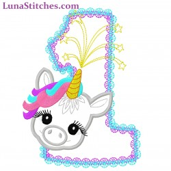 Baby Unicorn Pony One
