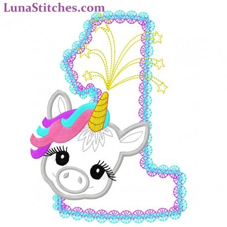 Baby Unicorn Pony One