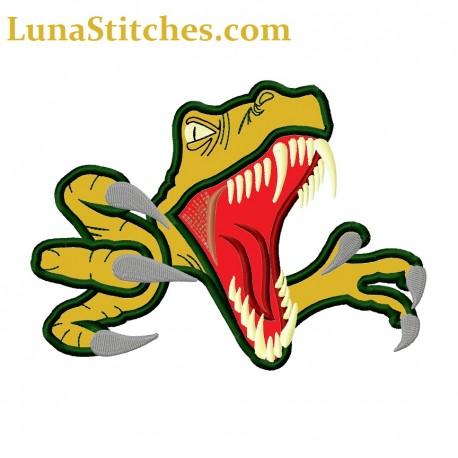 Raptor Dinosaur Head Claws