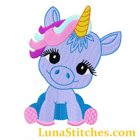 Baby Unicorn Pony Fill