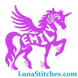 Unicorn Custom Name