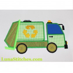 Recycle Green Truck