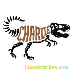 T-Rex Bones Custom Name