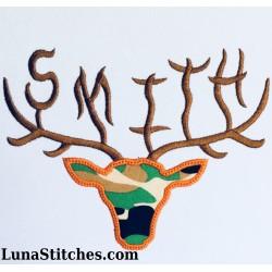 Elk Horn Font Set