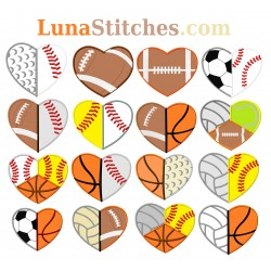 Sports Hearts Bundle
