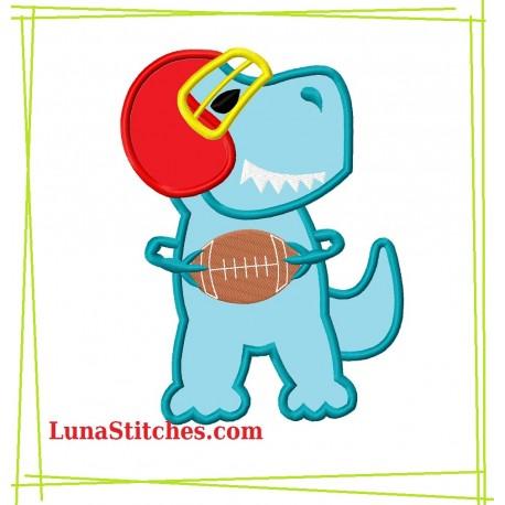 TRex Dinosaur Football