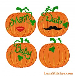 Pumpkin Family Set