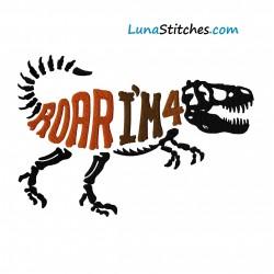 T-Rex Dino Roar I'm 4
