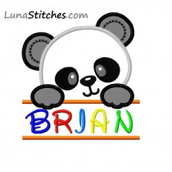 Split Cute Panda