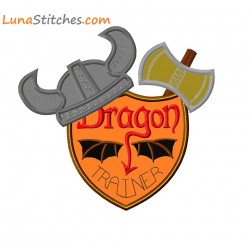 Viking Dragon Trainer Shield
