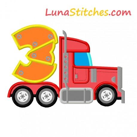 Heavy Truck Side Three