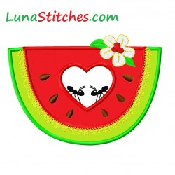 Watermelon Ants Heart
