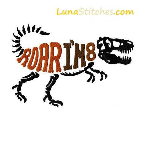 T-Rex Dino Roar I'm 8