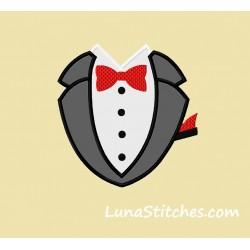 Tuxedo Black with Pocket
