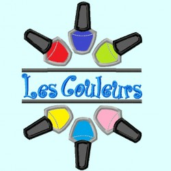 Split Nail Polishers Applique Embroidery Design