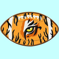Tiger Eye on Football