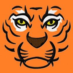 Tiger Face fill