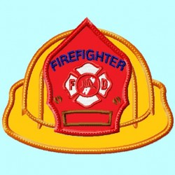 Firefighter Hat Front