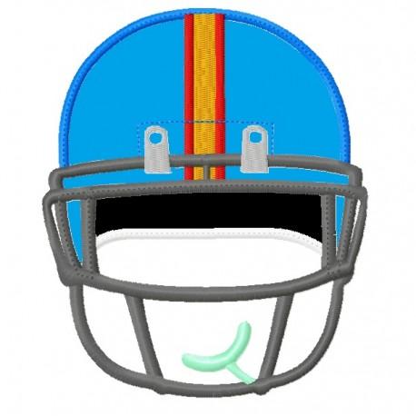 Front Football Helmet