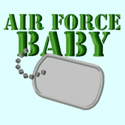 Air Force Baby Badge