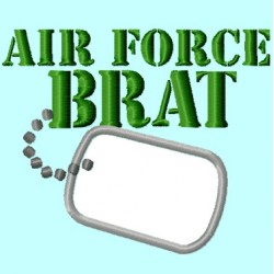 Air Force Brat Badge